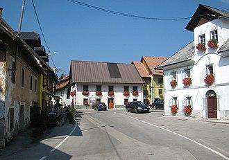 Rateče - The centre of Rateče