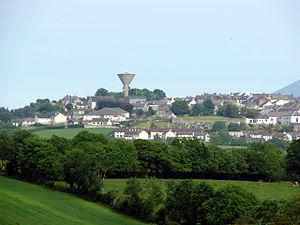 Rathfriland - Image: Rathfriland village. geograph.org.uk 1420523