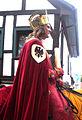 Ravensburg Rutenfest 2005 Festzug Rudolf von Habsburg Krone.jpg