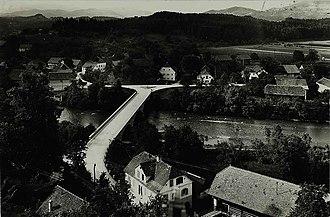 Letuš - 1958 postcards of Letuš