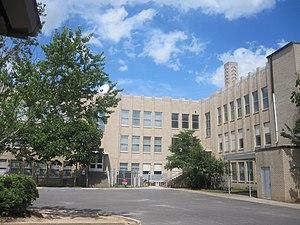 Ruston High School - Ruston High School (rear view)