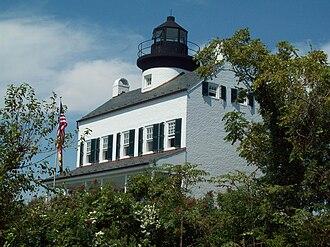Blakistone Island Light - Image: Rebuilt Blackistone Lighthouse View 2 Sept 09