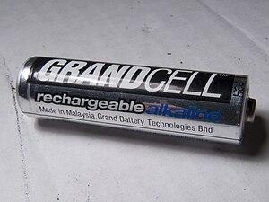 Rechargeable alkaline battery - Rechargeable Alkaline AA battery
