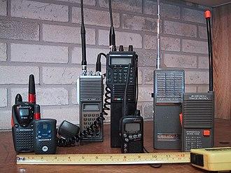 Emergency radio - Image: Recreational Walkie Talkies