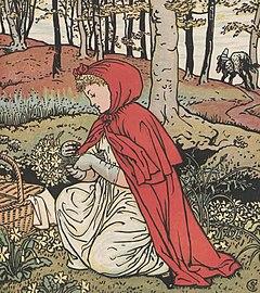 Red Riding Hood art detail, The art of Walter Grane (page 26 crop).jpg