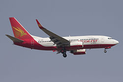 Boeing 737-700 der Regent Airways