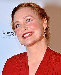 Regina Lund på Guldbaggegalan 2013.