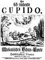 Reinhard Keiser - Der sich rächende Cupido - titlepage of the libretto from 1724.jpg