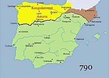 Mappa Spagna Oviedo.Asturie Wikipedia