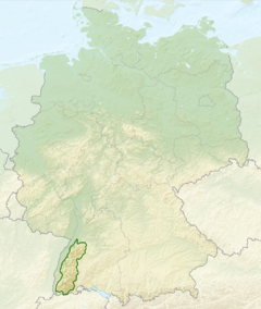 Relief Map of Germany, Black Forest.png