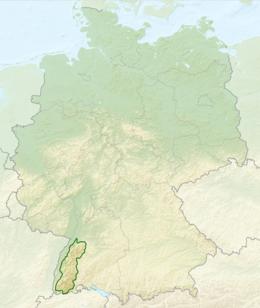Kaart van de Hulp van Duitsland, Zwarte Forest.png