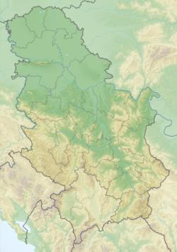 Belgrade is located in Serbia