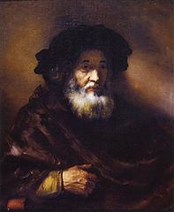 Portrait of an Old Man in a Cape