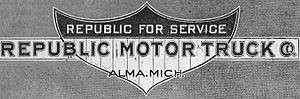 Republic Motor Truck Company - Image: Republic Motor Truck Co ad 1916