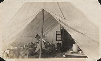 Stone & Webster - Image: Rex Dunbar Frazier in camp