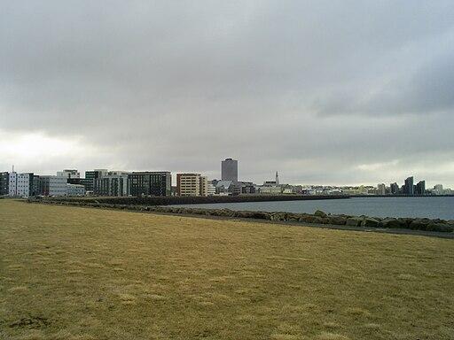 Reykjavik skyline RVG
