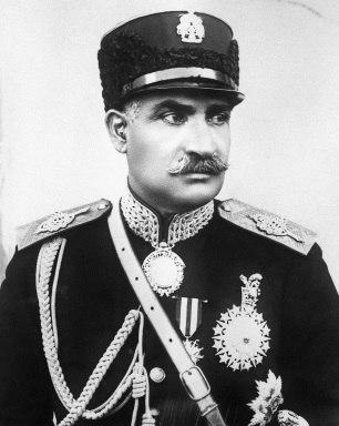 Reza Shah portrait