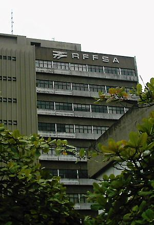 RFFSA - The former headquarters of the RFFSA in Juiz de Fora.