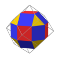 Rhombicuboctahedron in rhombic dodecahedron.png