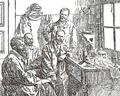 Ricardo Jorge e Câmara Pestana com Calmette e Salimbeni durante a peste do Porto, 1899.png