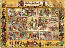 16b006bb83f7 Рождественский календарь — Википедия