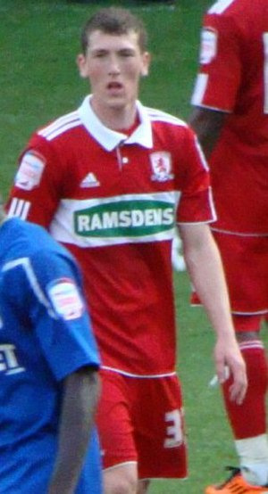 Richard Smallwood (footballer) - Smallwood playing for Middlesbrough in 2011