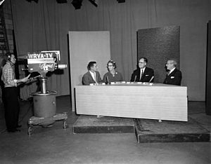 WWBT - Religious broadcast on WRVA-TV, 1959
