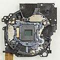 Ricoh CX1 - optical unit - backside with CCD-92609.jpg