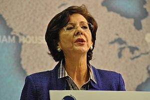 Rima Khalaf - Rima Khalaf speaking at Chatham House in 2011.
