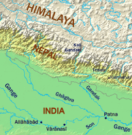 River Ganges and tributaries.png