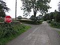 Road junction at Derryvane - geograph.org.uk - 953344.jpg