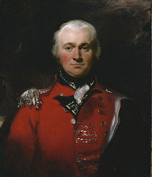 General Officer Commanding, Ceylon - Image: Robert Brownrigg
