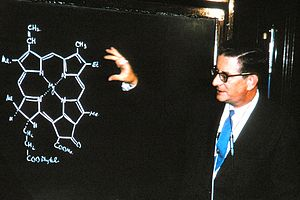 Robert Burns Woodward - Woodward talked about Chlorophyll in 1965