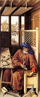 Robert Campin - Mérode Altarpiece (right wing) - WGA14422