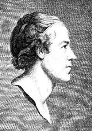Robert Mylne (architect) - Engraving of Mylne, aged 24, by Vincenzio Vangelisti, after a drawing by Richard Brompton.