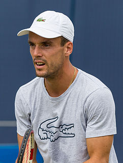 Roberto Bautista Agut Spanish professional tennis player