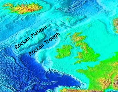Rockall Plateau and Trough, NE Atlantic