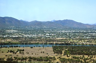 Rockhampton City in Queensland, Australia