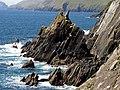 Rocks at the base of Dunmore Head - geograph.org.uk - 16738.jpg