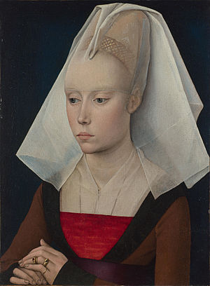 Portrait of a Lady (van der Weyden) - Image: Rogier van der Weyden workshop Portrait of a Lady 1460 (National Gallery London)