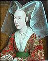 Rogier van der Weyden workshop - Portrait of Isabella of Portugal - without frame.jpg