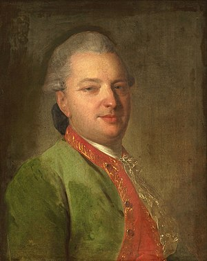 Vasily Maykov - Portrait by Fyodor Rokotov, 1775