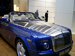 Rolls-Royce Phantom Drophead Coupé, at the Detroit Auto  Show