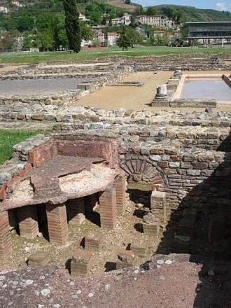 Saint-Romain-en-Gal - An archaeological site in Saint-Romain-en-Gal