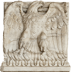 Imperial aquila of Roman Empire