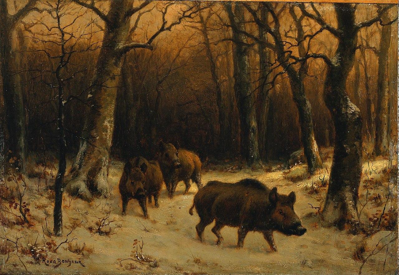Russian Art Painting Allon