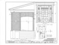 Rosemount, County Road 19, Forkland, Greene County, AL HABS ALA,32-FORK.V,1- (sheet 14 of 16).png