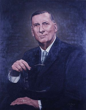 Ross Barnett - Portrait of Barnett