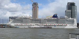 Rotterdam cruiseschip Norwegian Epic