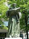 エラスムスの銅像